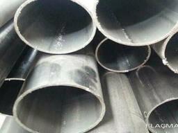 Алюминиевая труба овальная 43x18x1,5 мм анод и без покр. .. .