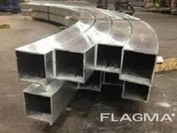 Алюминиевая труба квадратная 20х20х1, 5мм