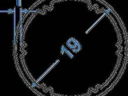Алюминиевая труба ролетная 19х1N0112 б. п.