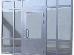 Алюмінієві Вхідні Двері