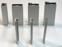 Алюминиевый фасадный профиль: рамочный и торцовочный.