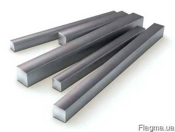 Квадрат стальной 80х80, ст. 45, . наг, . калиброванный