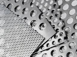 Алюминиевый лист 1, 5*1500*3000 mm перфорированый , апел. кор