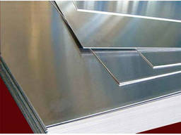 Алюминиевый лист гладкий 1. 5x1000x2000, алюминий купить, ад0