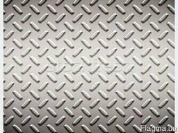 Лист алюминиевый 3 мм 1х2 1050 Рифленый