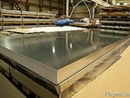 Алюминиевый лист гладкий 3x1000x2000 АМгЗ