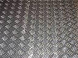 Лист рифленый нержавеющий AISI 304 от 3,0 - 5,0 мм