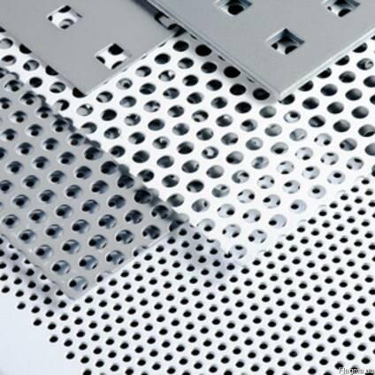 Алюминиевый лист перфорированый 8мм 1х2м