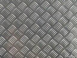 Алюминиевый лист рифлений Квинтет 1x1000x2000, купить, цена