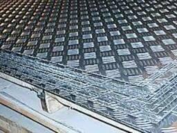 Алюминиевый лист рифленный 2, 0 мм (1, 25х2, 5) 1050