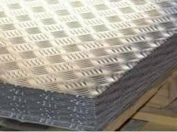 Алюминиевый лист рифленый АД0 2мм 1000х2000