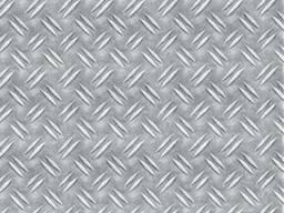 """Алюминиевый лист рифленый """"Дует"""" 1. 5x1250x2500"""