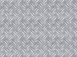 """Алюминиевый лист рифленый """"Дуэт"""" 3x1000x2000 АМГ3 ГОСТ"""