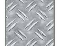 """Алюминиевый лист рифленый """"Дует"""" 2x1000x2000 АДО"""