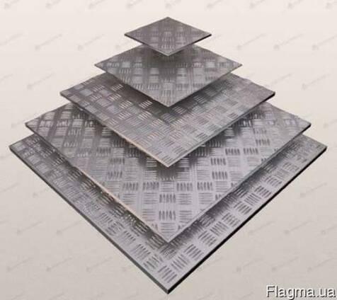 Лист алюминия рифленый 3 мм