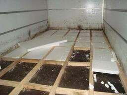 Алюминиевый пол на грузовой автомобиль (цельносварной)