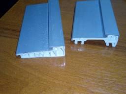 Алюминиевый порог для ПВХ конструкций