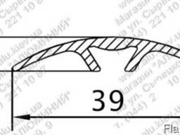 Алюминиевый порожек 39x5211196 б. п.