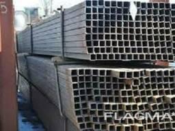 Алюминиевая труба прямоугольная 40х20х2 ( без покрытия )
