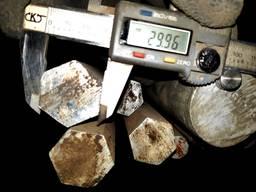 Алюминиевый шестигранник Д16Т 30 мм
