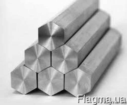 Алюминиевый шестигранник Д16Т S41
