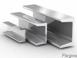 Алюминиевый швеллер 25x25x2 АД31 Т5 купить ГОСТ цена