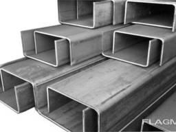 Алюминиевый швеллер 40х20х2