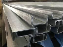Алюминиевый швеллер 35х20х1,5 мм АД31 Т5 анод. , б/п.