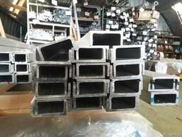 Алюминиевый швеллер 160х160х10 анодированный АД31Т5