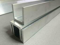 Алюминиевый швеллер 20х40х2