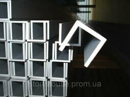 Алюминиевый швеллер 120х40х4
