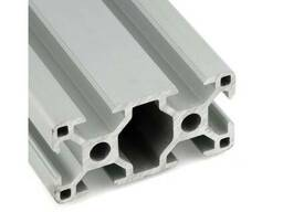 Станочный профиль алюминиевый анодированный V-образный 20*20мм 2020 1м ЧПУ 3D-принтер (161