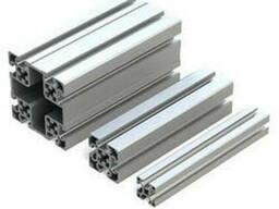 Алюминиевый станочный профиль 45x90 мм. анод. Купить.