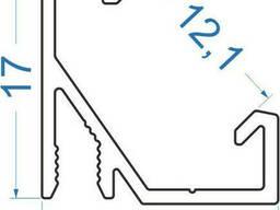 Алюминиевый светодиодный профиль 17х16, 5