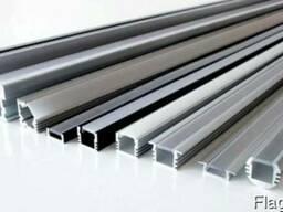 Алюминиевый светодиодный профиль 55х60 анод черн. купить