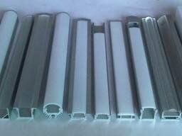 Алюминиевый светодиодный профиль 55х60 анод купить