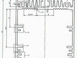 Алюминиевый светодиодный профиль 55х60