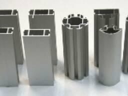 Алюминиевый торговый профиль (для сборки витрин и прилавков)