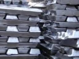Чушка алюминиевая АК5М2 (АЛ3В) Силумин ГОСТ 1583