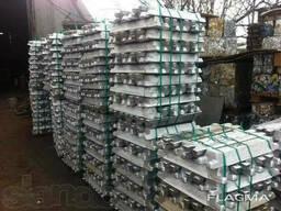 Алюминиевые чушки и слитки АК5М2; АК7 Алюминий литейный. ..