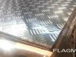 Алюминиевый лист рифленый «Квинтет»1,5х1500х4000мм;2;3;4мм