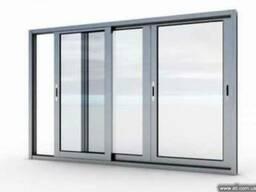 Алюминиевые окна, двери, раздвижные балконные рамы, офисные