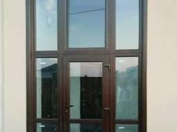 Алюминиевые окна и двери, раздвижки, гармошки