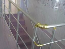 Алюминиевые перила-профиль, фурнитура. - фото 2