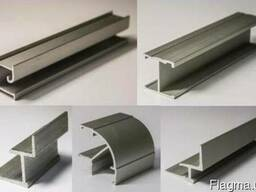 Алюминиевые профили для торговой, офисной мебели,перегородок