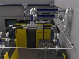 Алюминиевые трубопроводные системы, проектирование, монтаж.