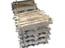 Алюминий марка АВ97, алюминий в чушках, алюминиевая чушка, алюминий для раскисления