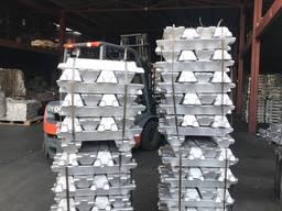 Алюминиевая чушка Силумин АК12 купить цена суперакция склад