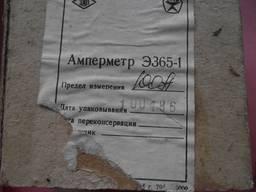 Амперметр Э365-1 100 А
