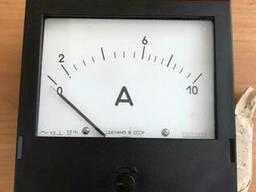 Амперметр переменного тока щитовой Э365-1 10А